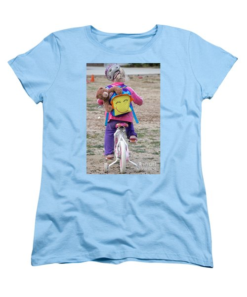 A Child's Adventure Women's T-Shirt (Standard Cut) by Suzanne Oesterling