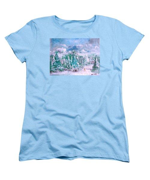 A Natural Christmas Women's T-Shirt (Standard Cut)