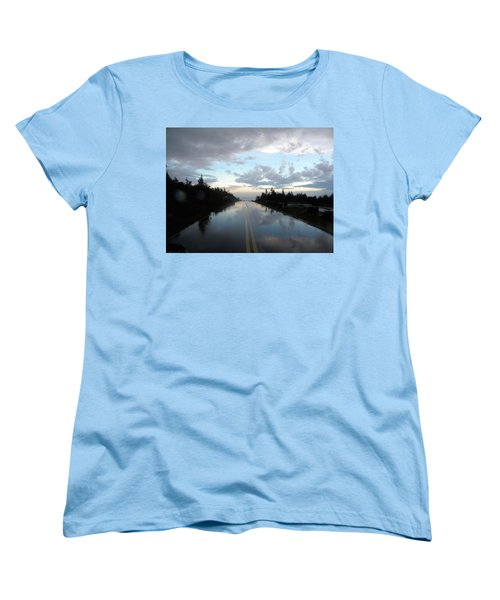 After The Storm Women's T-Shirt (Standard Cut) by James Petersen