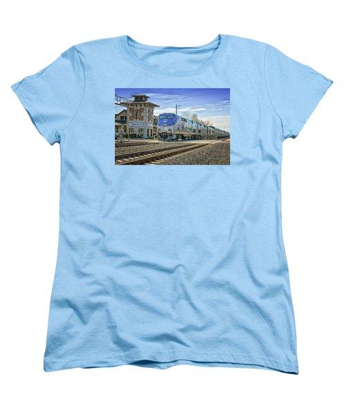 Amtrak 112 Women's T-Shirt (Standard Cut) by Jim Thompson