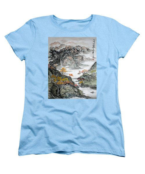 Autumn  Women's T-Shirt (Standard Cut) by Yufeng Wang
