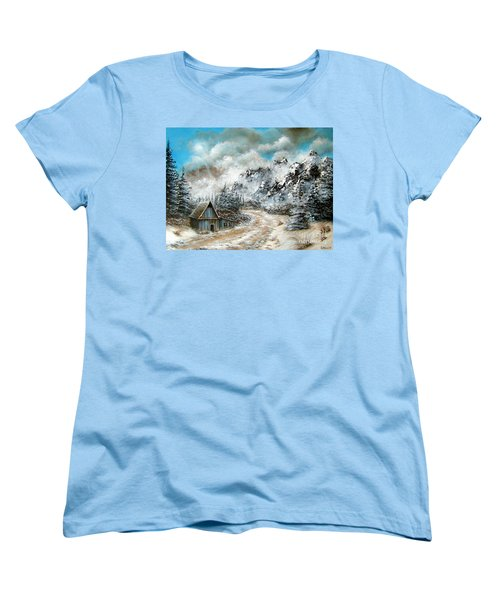 Back Home Women's T-Shirt (Standard Cut) by Patrice Torrillo