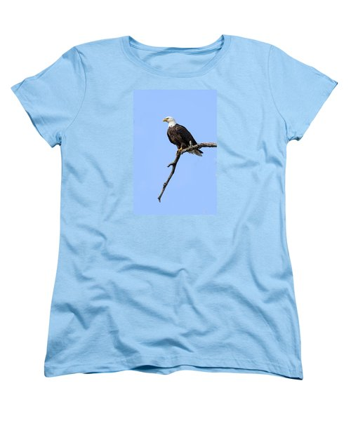 Women's T-Shirt (Standard Cut) featuring the photograph Bald Eagle 6 by David Lester