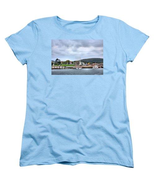 Bar Harbor Maine Women's T-Shirt (Standard Cut) by Kristin Elmquist