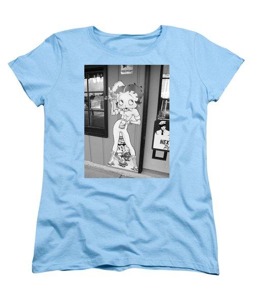 Betty Boop 3 Women's T-Shirt (Standard Cut) by Frank Romeo