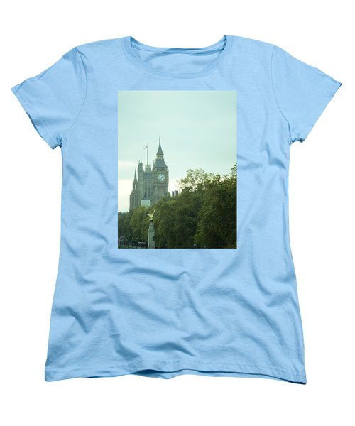 Big Ben Women's T-Shirt (Standard Cut) by Rachel Mirror