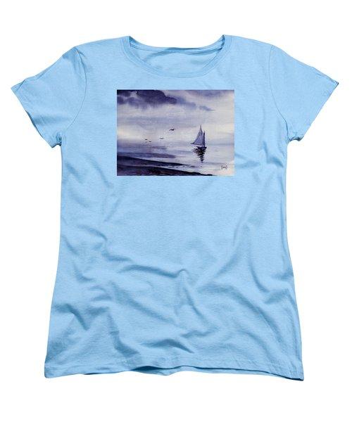 Boat Women's T-Shirt (Standard Cut) by Sam Sidders