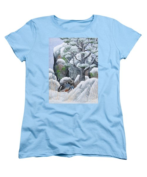 Cozy Couple Women's T-Shirt (Standard Cut)