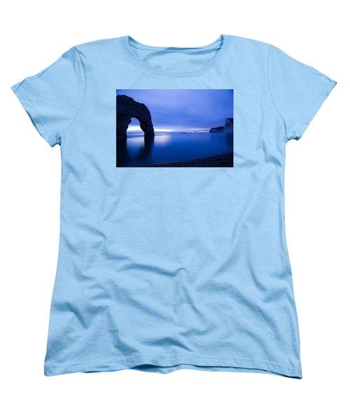 Durdle Door At Dusk Women's T-Shirt (Standard Cut)