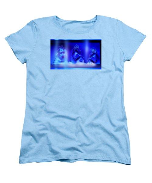 Women's T-Shirt (Standard Cut) featuring the mixed media Elusive  Dream by Hartmut Jager