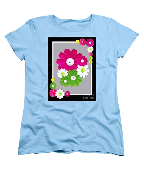 Women's T-Shirt (Standard Cut) featuring the photograph  Delightful Florals by Tina M Wenger