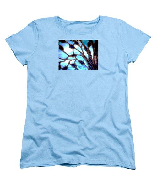 Gettysburg College Chapel Window Women's T-Shirt (Standard Cut) by Angela Davies