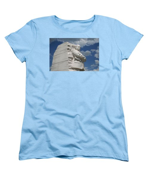 Women's T-Shirt (Standard Cut) featuring the photograph Honoring Martin Luther King by Cora Wandel