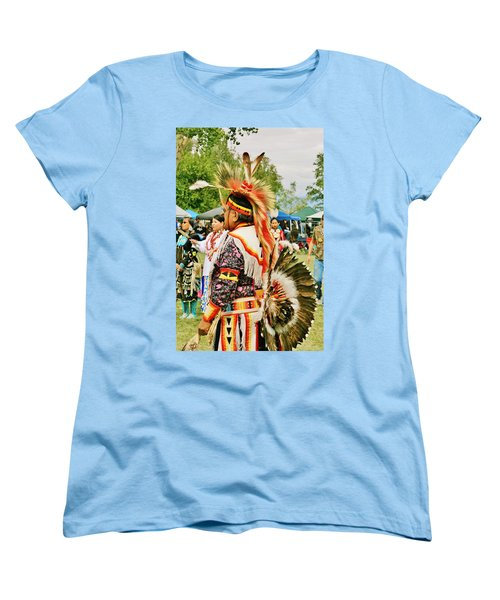 Women's T-Shirt (Standard Cut) featuring the photograph Indian Finery by Marilyn Diaz