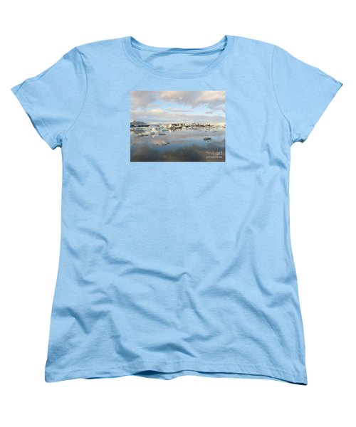 Jokulsarlon Glacier Lagoon Women's T-Shirt (Standard Cut)