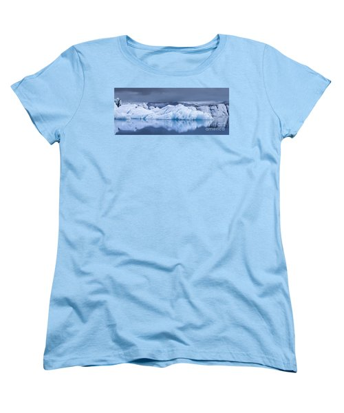 Jokulsarlon Women's T-Shirt (Standard Cut) by Gunnar Orn Arnason