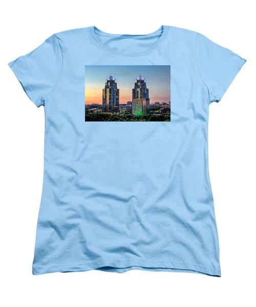 King And Queen Buildings Women's T-Shirt (Standard Cut) by Anna Rumiantseva