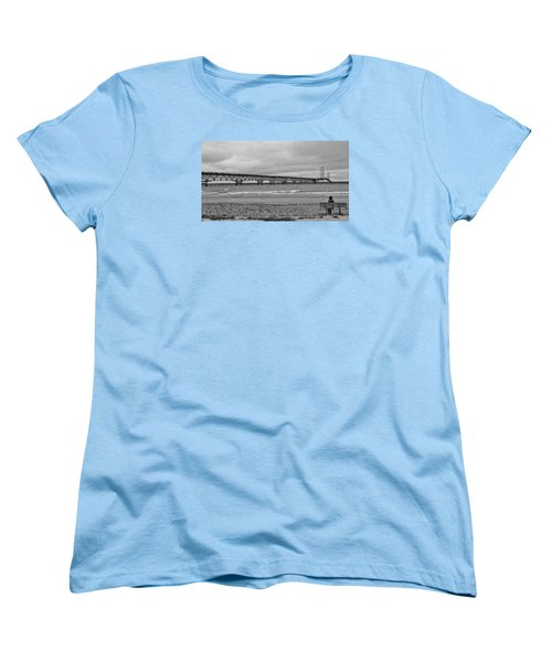 Looking North Women's T-Shirt (Standard Cut) by Daniel Thompson