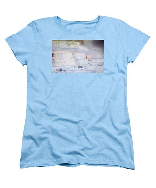Mammoth Terraces Women's T-Shirt (Standard Cut)