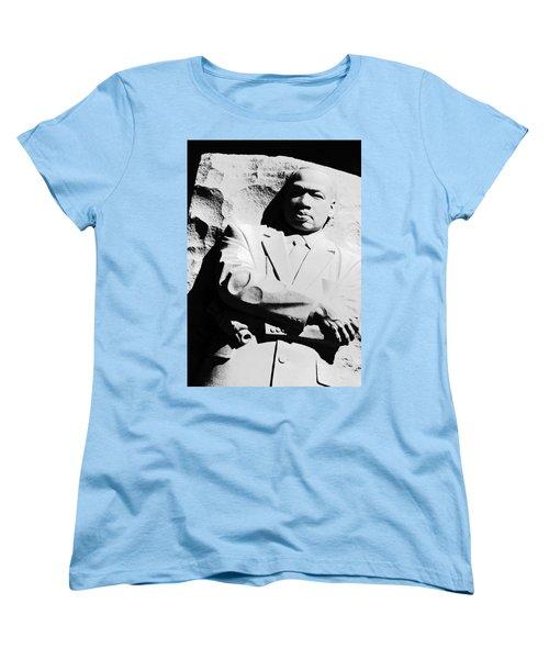 Women's T-Shirt (Standard Cut) featuring the photograph Martin Luther King Memorial by Cora Wandel