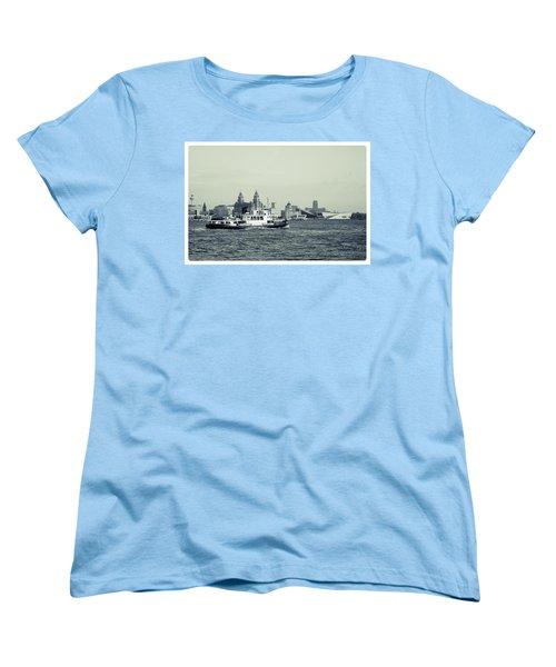 Mersey Ferry Women's T-Shirt (Standard Cut) by Spikey Mouse Photography