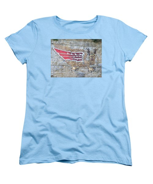Piasa Bird Women's T-Shirt (Standard Cut) by Kelly Awad