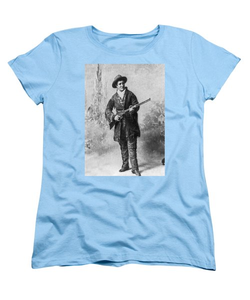 Portrait Of Calamity Jane Women's T-Shirt (Standard Cut) by Underwood Archives
