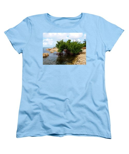 Women's T-Shirt (Standard Cut) featuring the photograph Reclamation 7 by Amar Sheow