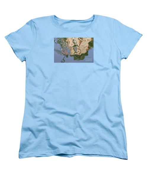 Reflection Mill Women's T-Shirt (Standard Cut) by Nora Boghossian