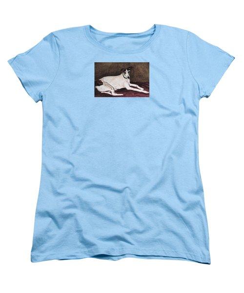 Resting Gracefully Women's T-Shirt (Standard Cut) by Angela Davies