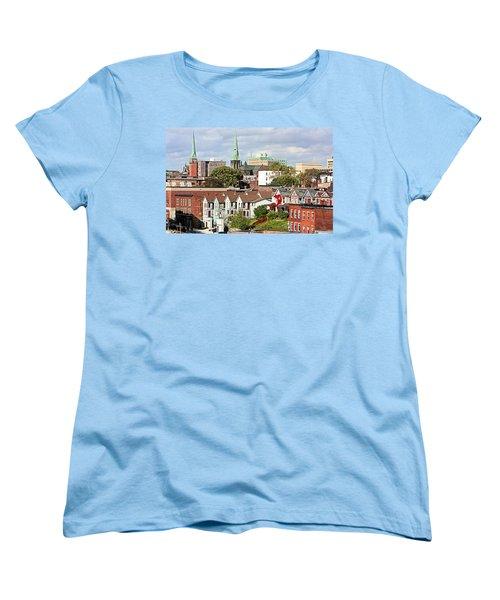Saint John New Brunswick Women's T-Shirt (Standard Cut) by Kristin Elmquist