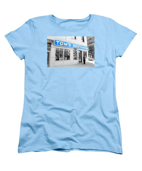 Seinfeld Diner Location Women's T-Shirt (Standard Cut) by Valentino Visentini