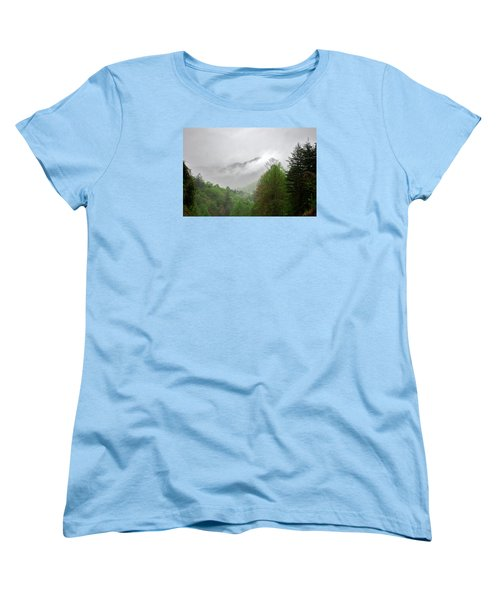 Smoky Mountains Women's T-Shirt (Standard Cut) by Lawrence Boothby