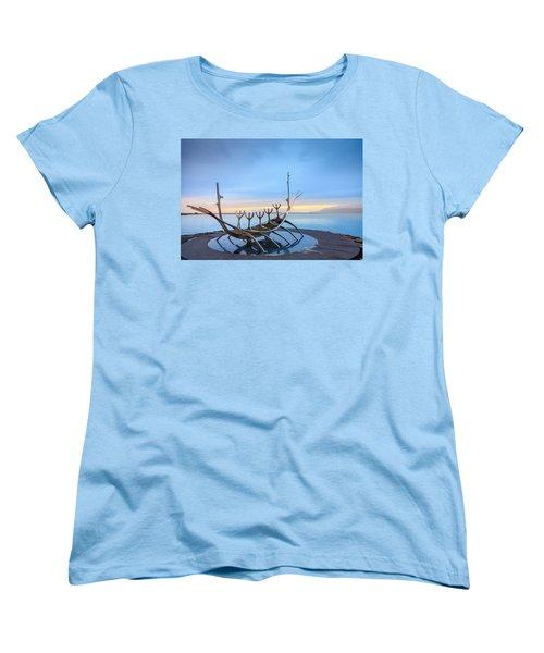 Solfar Sun Voyager Women's T-Shirt (Standard Cut) by Alexey Stiop