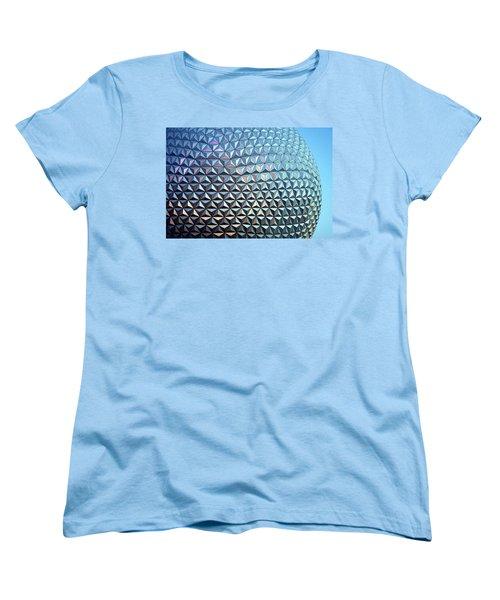 Women's T-Shirt (Standard Cut) featuring the photograph Spaceship Earth by Cora Wandel