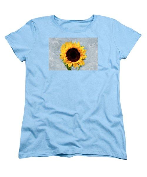 Women's T-Shirt (Standard Cut) featuring the photograph Sunflower by Bill Howard