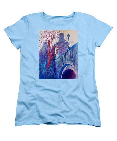 The Charles Bridge Blues Women's T-Shirt (Standard Cut)