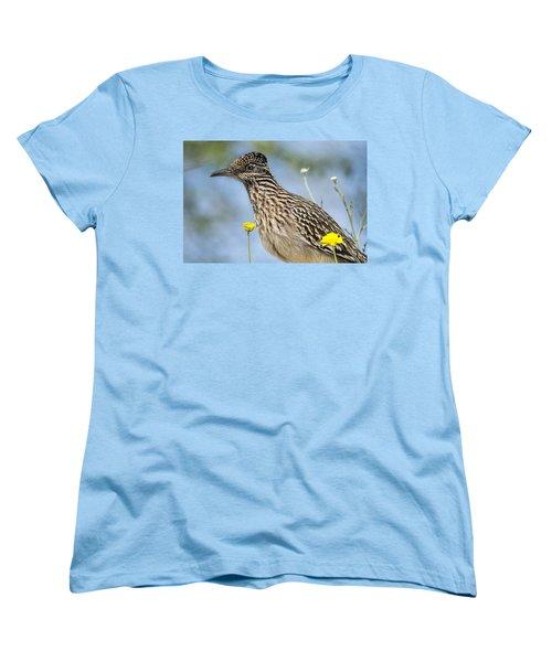 The Greater Roadrunner  Women's T-Shirt (Standard Cut) by Saija  Lehtonen