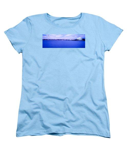 Tidal Basin Washington Dc Women's T-Shirt (Standard Cut) by Panoramic Images