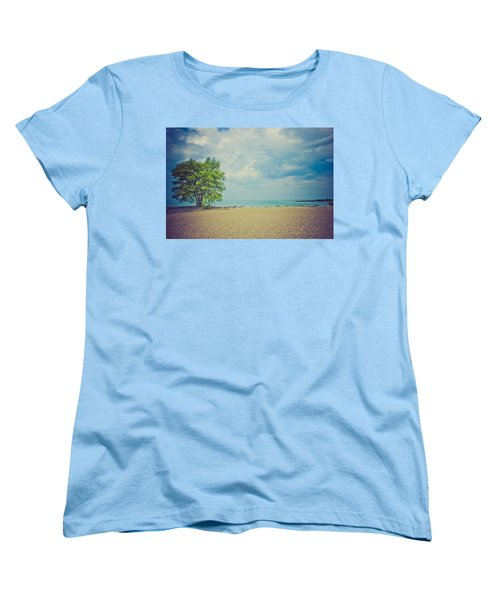 Women's T-Shirt (Standard Cut) featuring the photograph Tranquility by Sara Frank