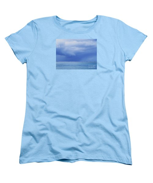 Tropical Storm Women's T-Shirt (Standard Cut) by Roselynne Broussard