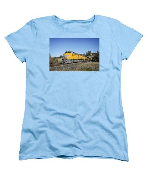 Up 8267 Women's T-Shirt (Standard Cut) by Jim Thompson
