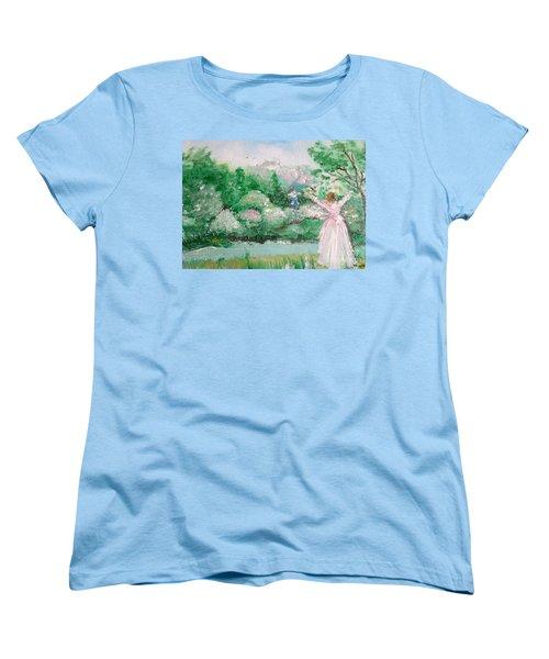 Welcome Home Love Women's T-Shirt (Standard Cut)