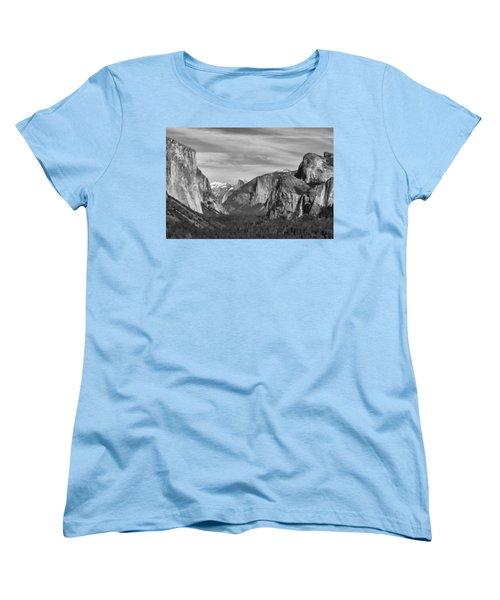 Yosemite Women's T-Shirt (Standard Cut) by David Gleeson