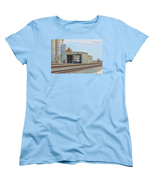 Foster Farms Locomotives Women's T-Shirt (Standard Cut) by Jim Thompson