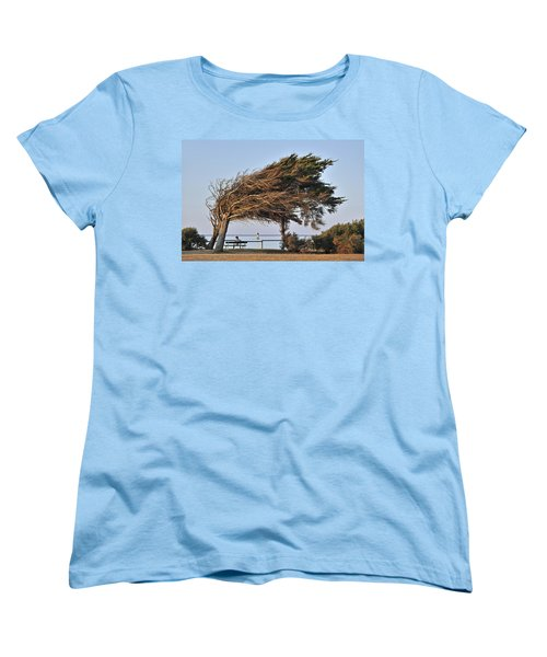 Women's T-Shirt (Standard Cut) featuring the photograph 120920p152 by Arterra Picture Library