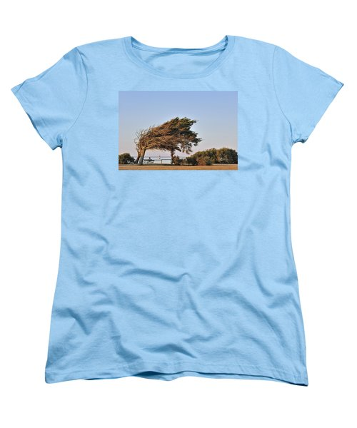 Women's T-Shirt (Standard Cut) featuring the photograph 120920p153 by Arterra Picture Library