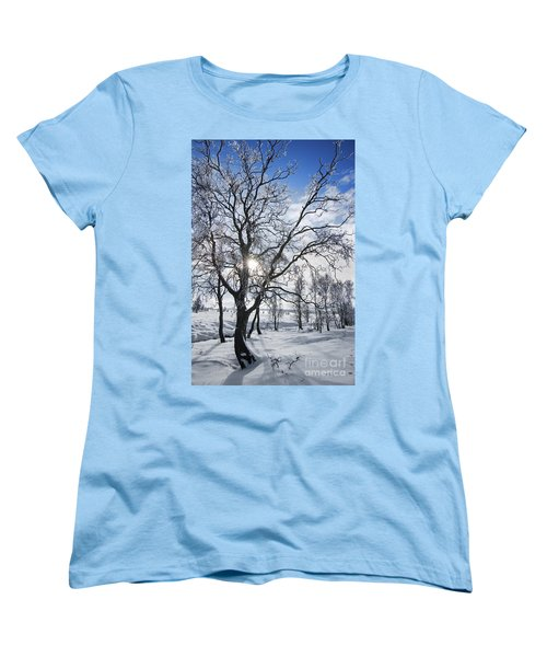 Women's T-Shirt (Standard Cut) featuring the photograph 130201p341 by Arterra Picture Library