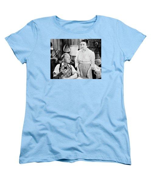 Women's T-Shirt (Standard Cut) featuring the photograph W.c. Fields by Granger