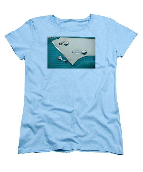 Women's T-Shirt (Standard Cut) featuring the photograph 1950's Chevy Interior by Dean Ferreira